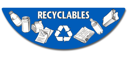 Recyclables products label